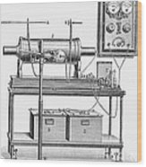 X-ray Machine Wood Print