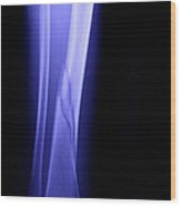 X-ray Of Fractured Tibia Wood Print