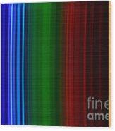 Xenon Spectra Wood Print