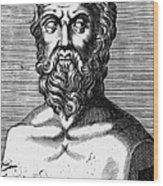 Xenophon (434?-?355 B.c.) Wood Print
