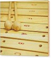 Xylophone Wood Print