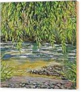 Yakima River Wood Print