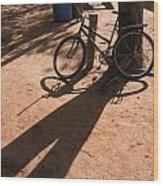 Yalva Sanga Bicycle Wood Print