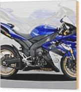 Yamaha R1 Wood Print