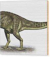 Yangchuanosaurus Shangiouensis Wood Print