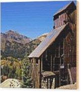 Yankee Girl Mine Wood Print