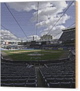 Yankee Stadium  Wood Print