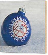 Yankees Ornament Wood Print