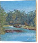 Yarra River Warrandyte Wood Print