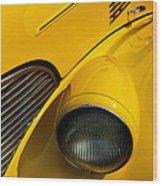 Yellow - D001178 Wood Print