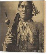 Yellow  Magpie  Arapahoe Wood Print