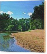 Yellow River Sanctuary 5 Wood Print