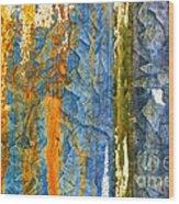 Yellow River Wood Print