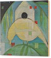 Yellowbird Whitehouse Wood Print
