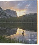 Yellowjacket Lake Wood Print