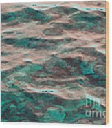 Yellowstone Abstract Wood Print
