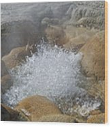 Yellowstone Hot Springs 9499 Wood Print