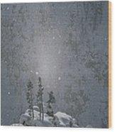 Yellowstone National Park, Winter View Wood Print