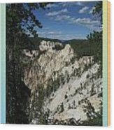 Yellowstone Np 007 Wood Print