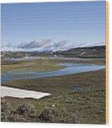 Yellowstone Plateau Wood Print