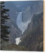 Yellowstone Splendour Wood Print
