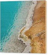 Yellowstone Thermal Pool 2 Wood Print