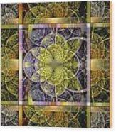 Yggdrasil Flower Wood Print