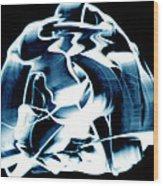 Ying Yang Paint And Photo Wood Print