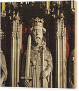 York Minster's Choir Screen Wood Print