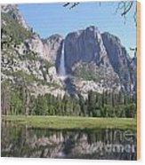 Yosemite National Park Usa Wood Print