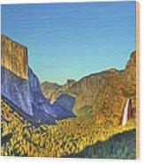 Yosemite Valley 4 Wood Print