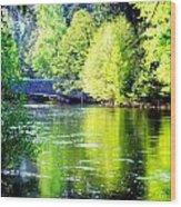 Yosemite's Merced River Wood Print