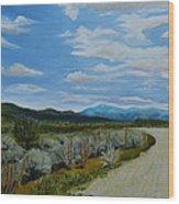 You Take The High Road.... Wood Print