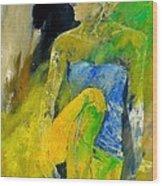 Young Girl 572180 Wood Print