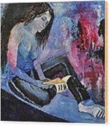 Young Girl 662160 Wood Print