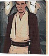 Young Obi Wan Kenobi Wood Print