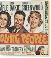 Young People, Shirley Temple, Jack Wood Print