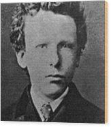 Young Vincent Van Gogh, Dutch Painter Wood Print