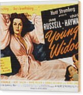Young Widow, Jane Russell, 1946 Wood Print by Everett