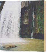 YS Falls5 Jamaica Wood Print