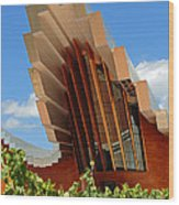 Ysios Winery Spain Wood Print