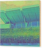 Yvr Vancouver International Airport Wood Print
