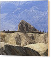 Zabriske Point Wood Print