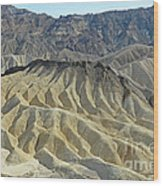 Zabriskie Point Wood Print