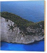 Zakynthos  Crocodile Island Greece Wood Print