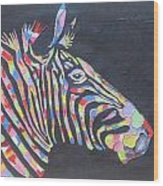 Zebra Wood Print by Rejeena Niaz
