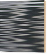 Zebra Waters Wood Print