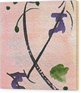 Zen Study 01 Wood Print