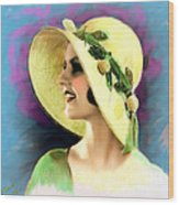 Ziegfeld Girl 031 Wood Print