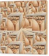 Zinnia To Infinity Wood Print